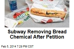 After Petition, Subway Removing Bread Chemical