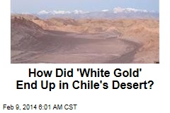 How Did 'White Gold' End Up in Chile Desert?