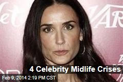 4 Celebrity Midlife Crises