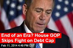No Strings: House OKs Hike in Debt Ceiling