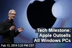 Tech Milestone: Apple Outsells All Windows PCs