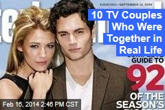 10 TV Couples Who Were Together in Real Life