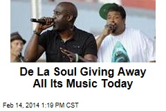 De La Soul Giving Away All Its Music Today