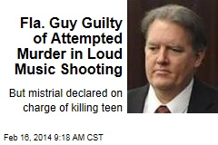 Fla. Guy Guilty of Attempted Murder in Loud Music Shooting