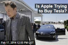 Is Apple Trying to Buy Tesla?