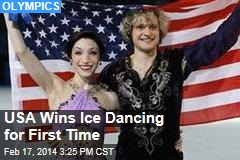 USA Wins Ice Dancing for First Time