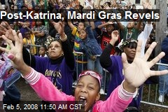 Post-Katrina, Mardi Gras Revels