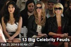 13 Big Celebrity Feuds