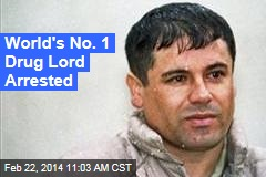 No. 1 Drug Lord Arrested in Mexico