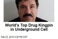 World's Top Drug Kingpin in Underground Cell