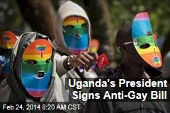 Uganda's President Signs Anti-Gay Bill