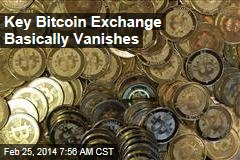 Key Bitcoin Exchange Implodes, Basically Vanishes