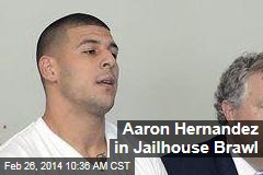 Aaron Hernandez in Jailhouse Brawl