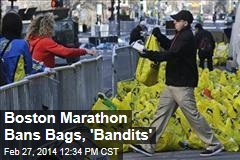 Boston Marathon Bans Bags, 'Bandits'
