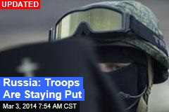 Crimea Crisis: Obama's Toughest Test?