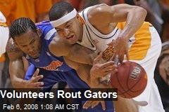 Volunteers Rout Gators