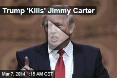 Trump 'Bumps Off' Jimmy Carter