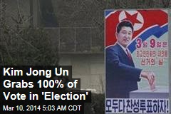 And the Winner of North Korea's 'Election' Is...