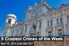 5 Craziest Crimes of the Week