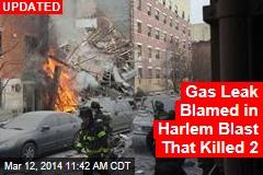 Building Explosion Rocks Harlem