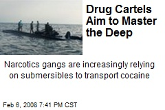 Drug Cartels Aim to Master the Deep