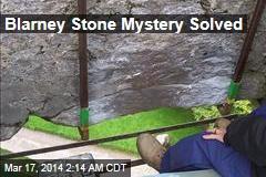 Blarney Stone Mystery Solved