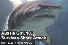 Aussie Girl, 10, Survives Shark Attack