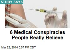 Medical-Conspiracy Theories Hot With Americans