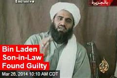 Bin Laden Son-in-Law Found Guilty