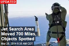 New Radar Lead Shifts Jet Search Area