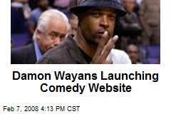 Damon Wayans Launching Comedy Website