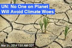 Climate Change Real, Inescapable: UN Panel