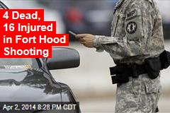 Police Investigate 'Active Shooter' at Fort Hood