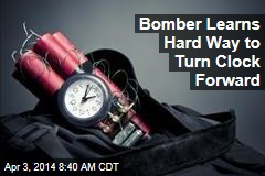 Bomber Learns Hard Way to Turn Clock Forward