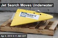 Jet Search Moves Underwater