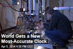 World Gets a New Most-Accurate Clock