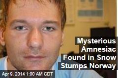 Mystery Man Found in Norway Snowdrift