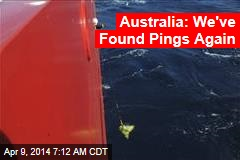 Australia: We've Found Pings Again
