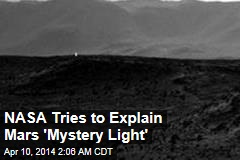NASA: 'Mars Light' Probably a Shiny Rock