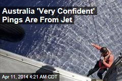 Aussie PM: We're 'Very Confident' Pings are From Jet