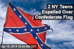 2 NY Teens Expelled Over Confederate Flag