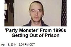 'Party Monster' From 1990s Getting Out of Prison