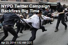 NYPD Twitter Campaign Backfires Big Time