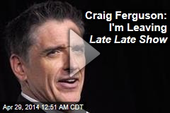 Craig Ferguson Leaving Late Late Show