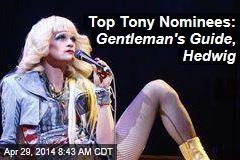 Top Tony Nominees: Gentleman's Guide , Hedwig