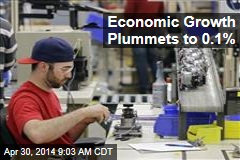 Economic Growth Plummets to 0.1%