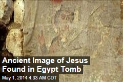 Ancient Image of Jesus Found in Egypt Tomb