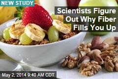 Scientists Figure Out Why Fiber Fills You Up
