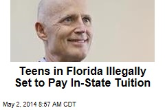Teens in Florida Illegally Set to Pay In-State Tuition