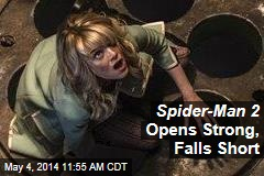Spider-Man 2 Opens Strong, Falls Short